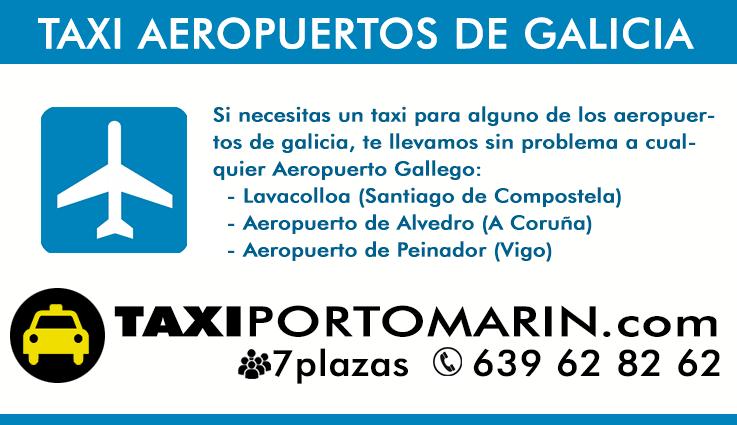 Taxi para Peregrinos en el Camino de Santiago al Aeropuerto
